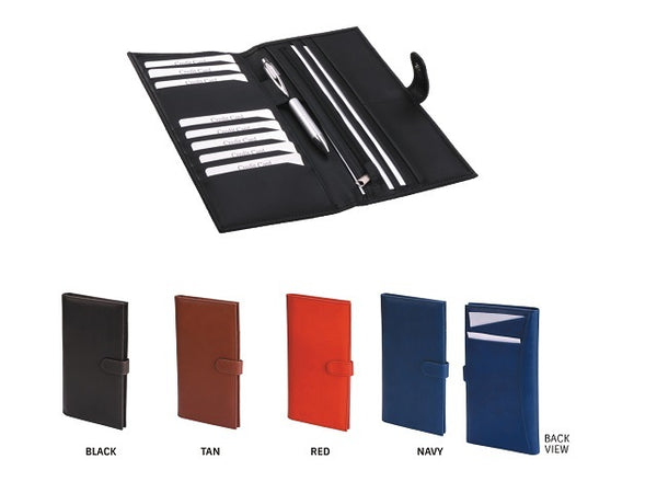 Adpel Colourplay Slimline Travel Wallet