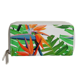 SoGood-Candy Two Zip Wallet | Strelitzia PU - KaryKase