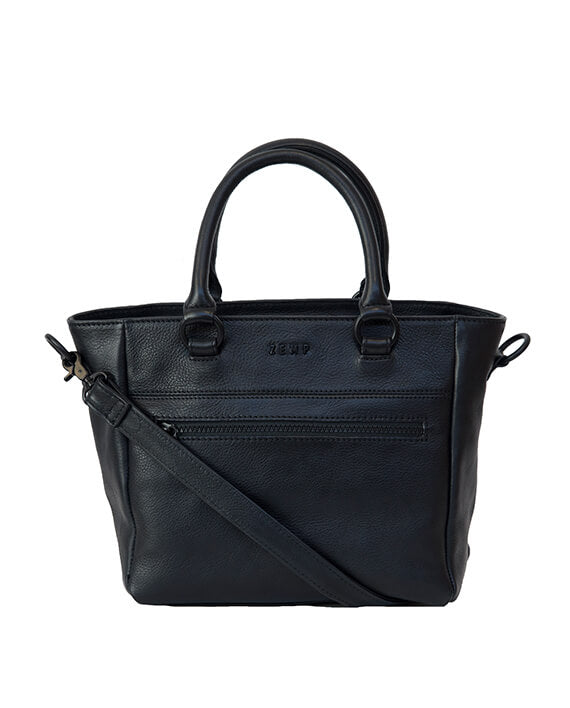Zemp Paris Grab Handbag | Black - KaryKase