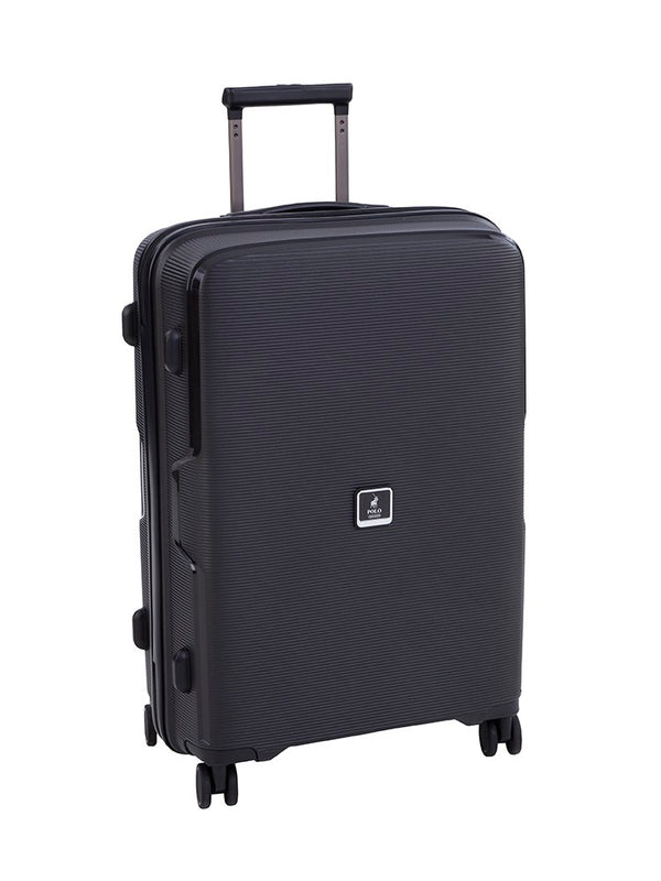 Polo Horizon Medium 65cm Spinner Trolley Case | Metallic Black - KaryKase