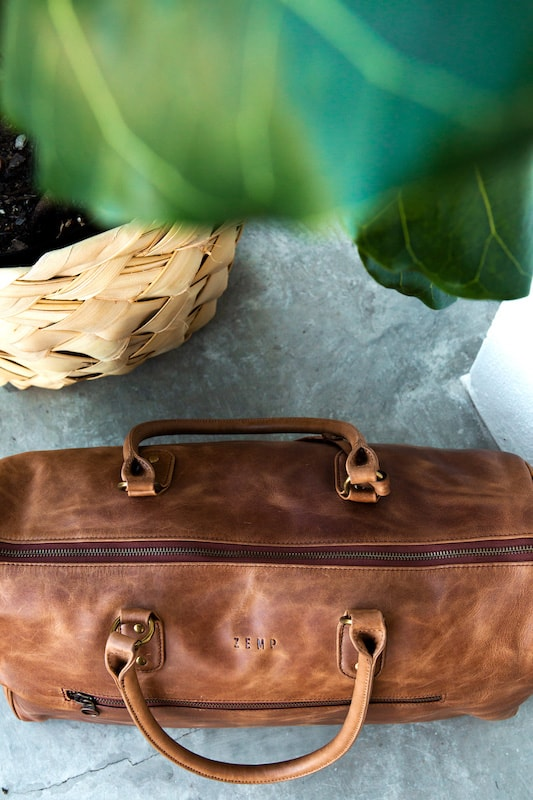 Zemp Joy Travel Duffel Bag | Toffee Tan