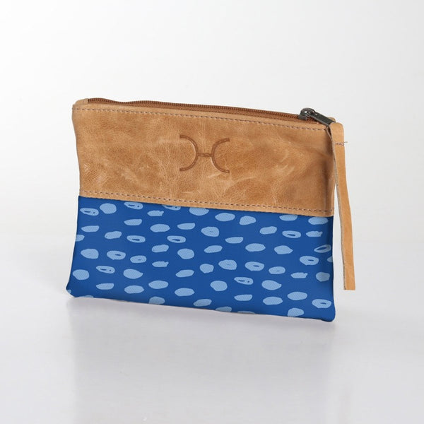Thandana Laminated Fabric With Leather Pouch | New Designs - KaryKase