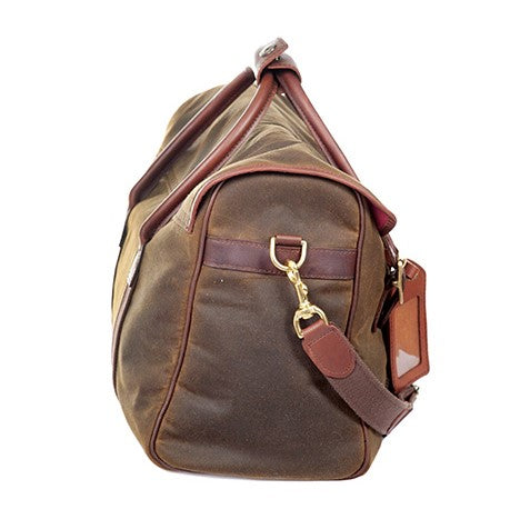 Melvill & Moon Waxed Cotton Rift Valley Day Bag - KaryKase