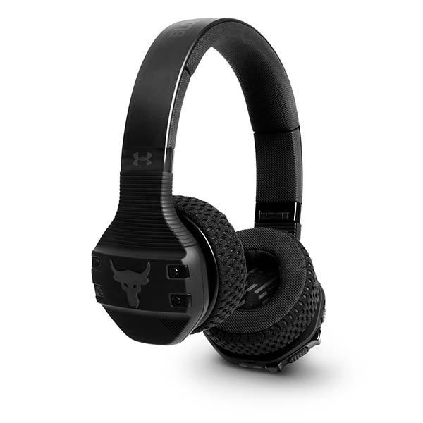 Under Armour Project Rock Train On-Ear Wireless Headphones | Black - KaryKase