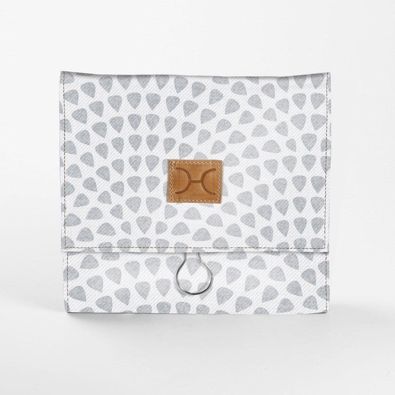 Thandana Laminated Fabric Roll Up Toiletry Pouch - KaryKase