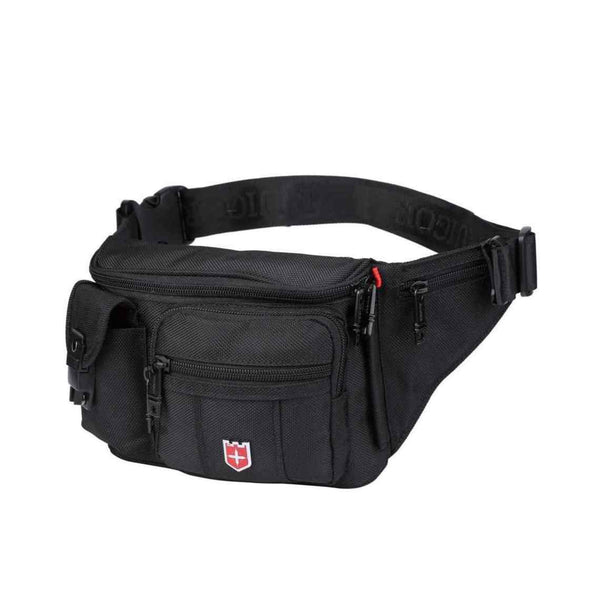 Swiss Ruigor Icon 12 Waist Bag | Black - KaryKase