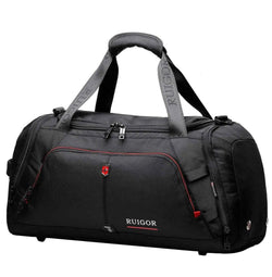 Swiss Ruigor Motion 07 Duffel Bag | Black - KaryKase