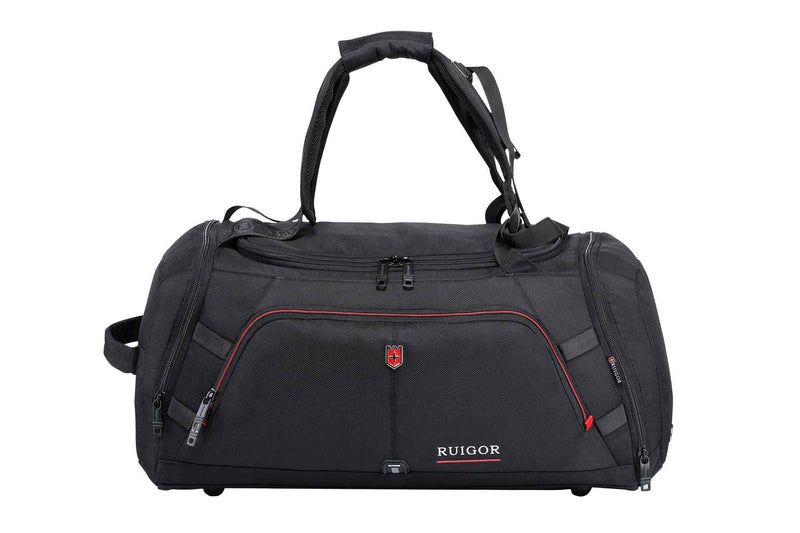 Swiss Ruigor Motion 12 Duffel Bag | Black - KaryKase