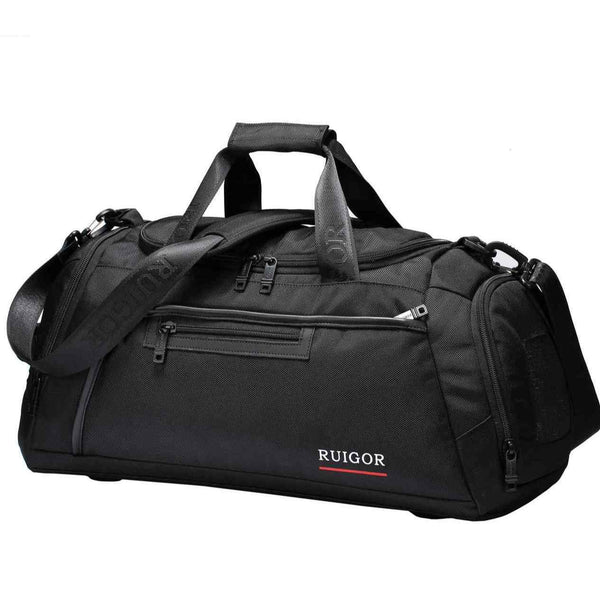 Swiss Ruigor Motion 32 Small Duffel Bag | Black - KaryKase