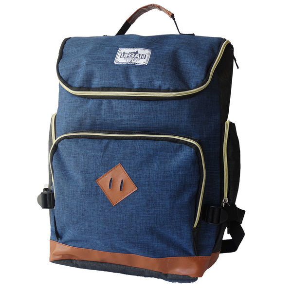 Eco Earth Urban Laptop Backpack | Navy