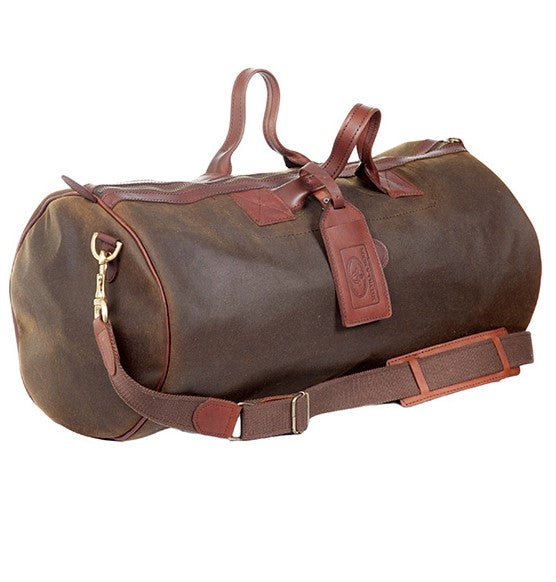 Melvill & Moon Waxed Cotton Short Safari Duffel Bag - KaryKase