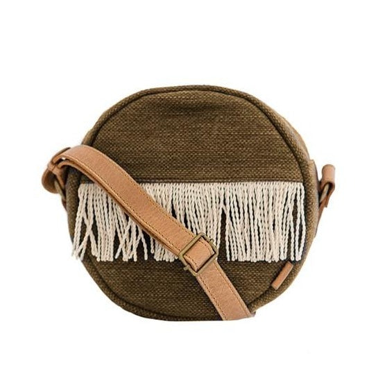 Zemp Santorini Rounded Crossbody Bag | Fox - KaryKase