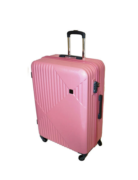 Tosca Sapphire ABS 55cm Cabin Spinner | Dusty Pink