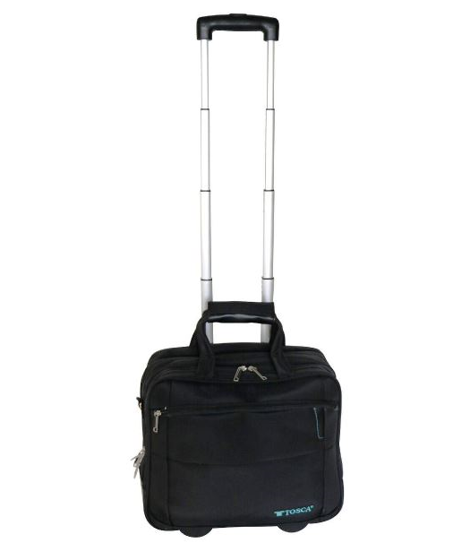 "Tosca Executive 15.6"" Laptop Trolley Case 