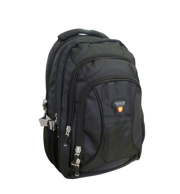 "Tosca Concepts 3 Zip 15.4"" Laptop Backpack 