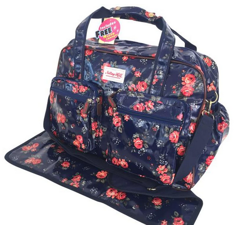 Notting Hill 2 Pocket Nappy Bag | Floral - KaryKase