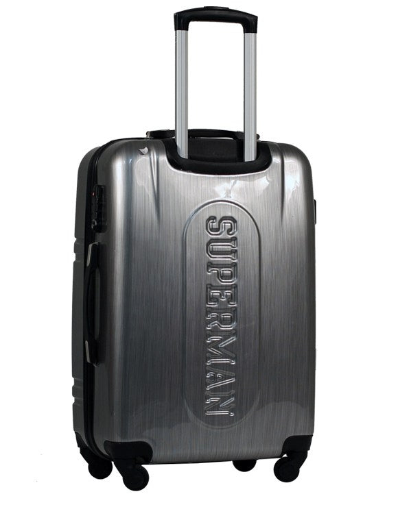 Travelwize Superman Series Medium Spinner | Silver - KaryKase