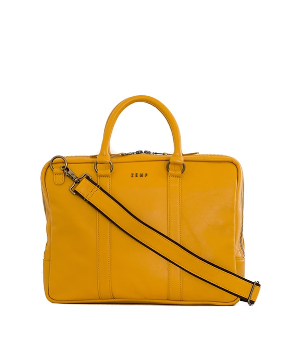 Zemp Supernova 13″ Laptop Bag | Yellow - KaryKase