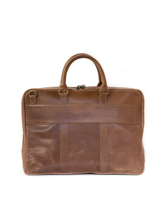 Zemp Supernova 13″ Laptop Bag | Waxy tan - KaryKase