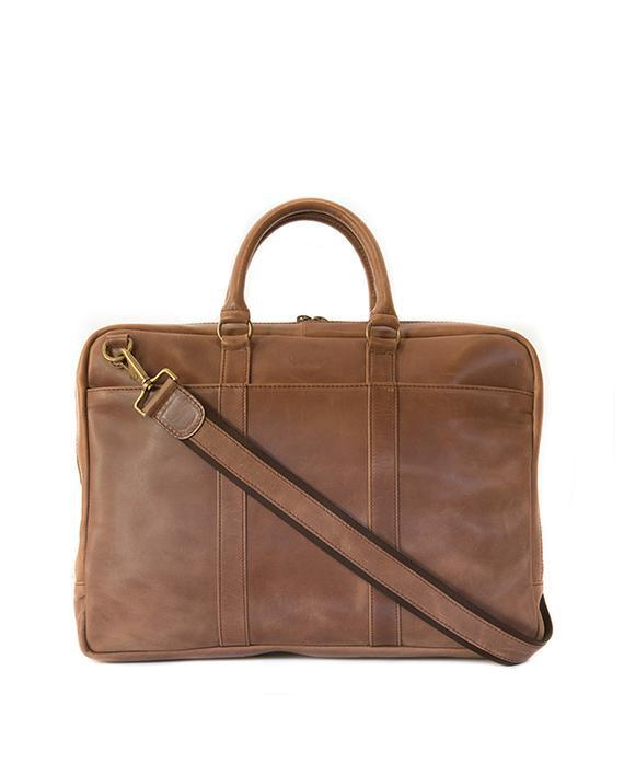 Zemp Supernova 15″ Laptop Bag | Waxy Tan - KaryKase