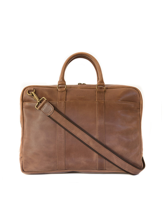 Zemp Supernova 13″ Laptop Bag | Waxy tan