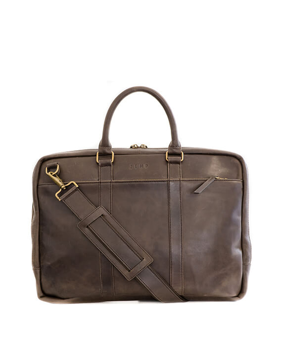 Zemp Supernova 15″ Laptop Bag | Waxy Brown - KaryKase