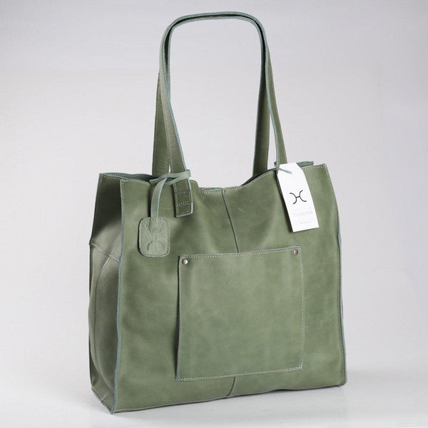 Thandana Tote Leather Handbag