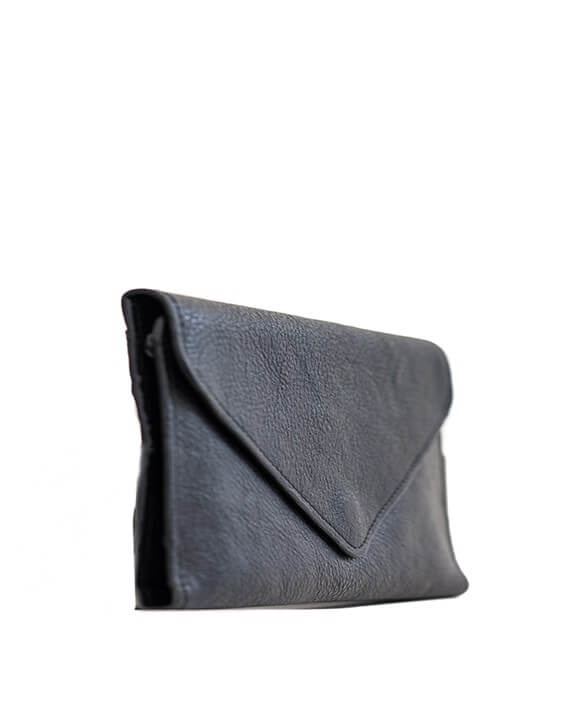 Zemp Tracey Fold-up Purse With Removable Coin Pouch | Black - KaryKase