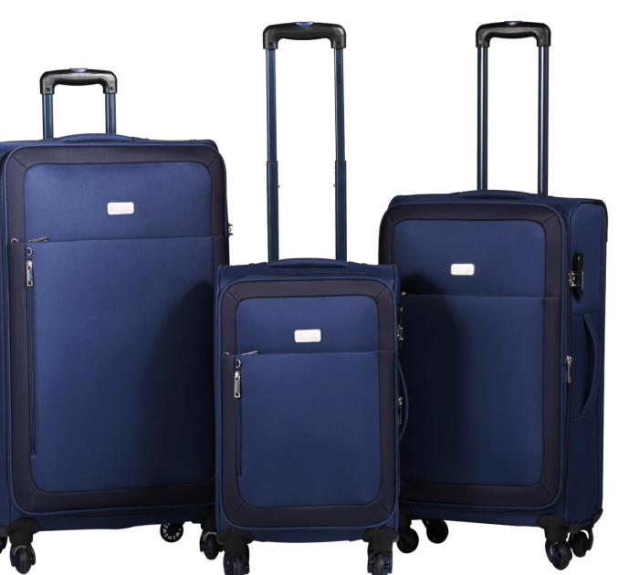 Travelwize Luggage Polar Series 65cm Spinner | Navy Blue