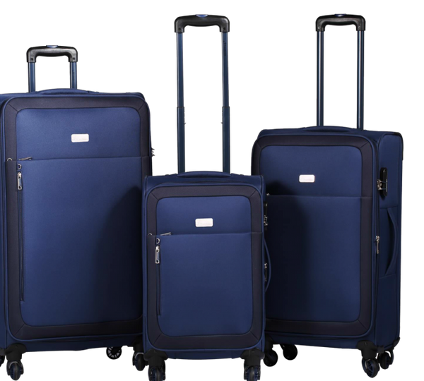 Travelwize Luggage Polar Series Spinner 3PC Set | Navy Blue