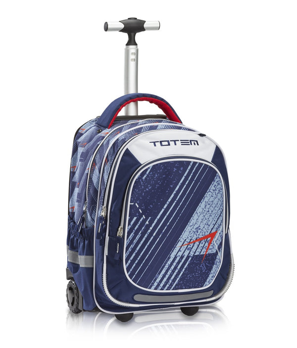 Totem School Trolley Backpack Large Spirit (6-10 years) | Navy - KaryKase