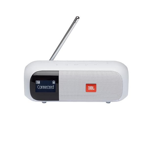 JBL Tuner2 Portable Bluetooth FM Radio Speaker | White - KaryKase