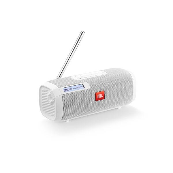 JBL Tuner Portable Bluetooth FM Radio speaker | White - KaryKase