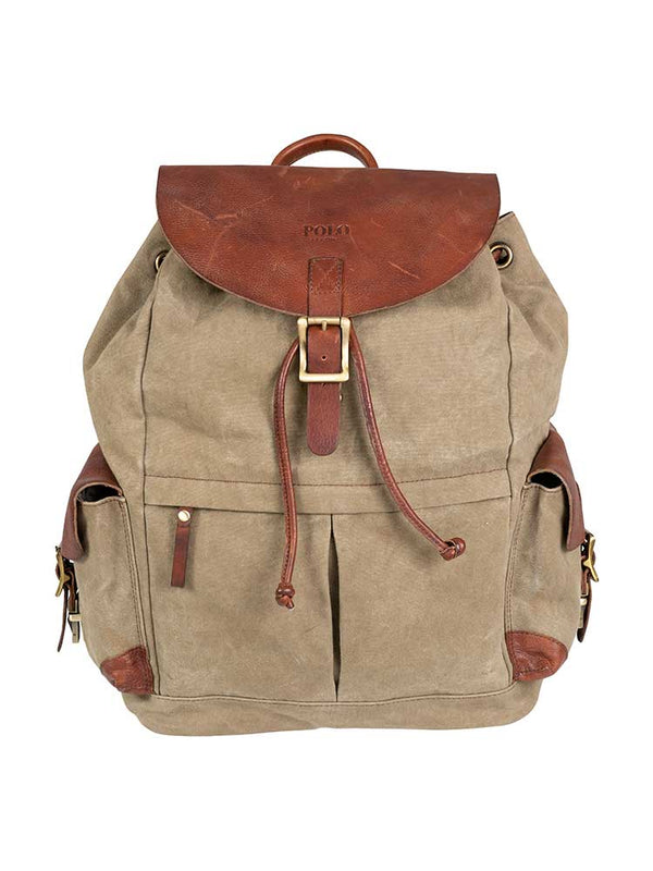 Polo Safari Backpack | Olive - KaryKase