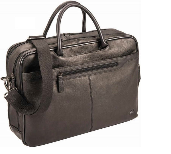 "Adpel Alba 15.4"" Leather Laptop Bag 