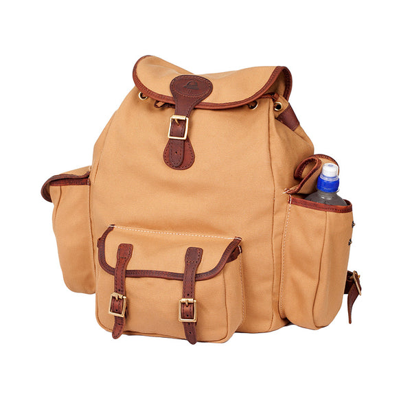 Melvill & Moon Leather Urban Rucksack | Sand - KaryKase