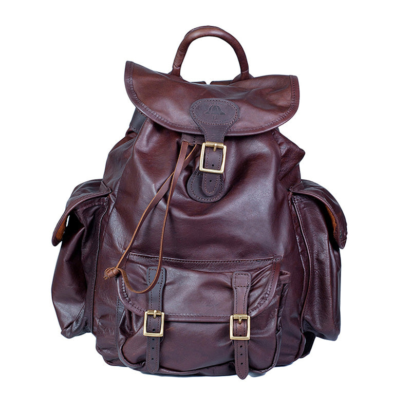 Melvill & Moon Leather Urban Rucksack | Brown - KaryKase
