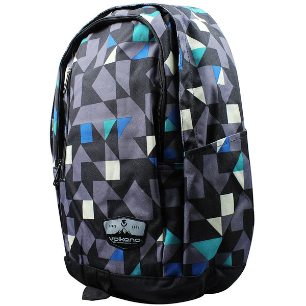 Volkano Geometric Series Backpack | Multi Colour