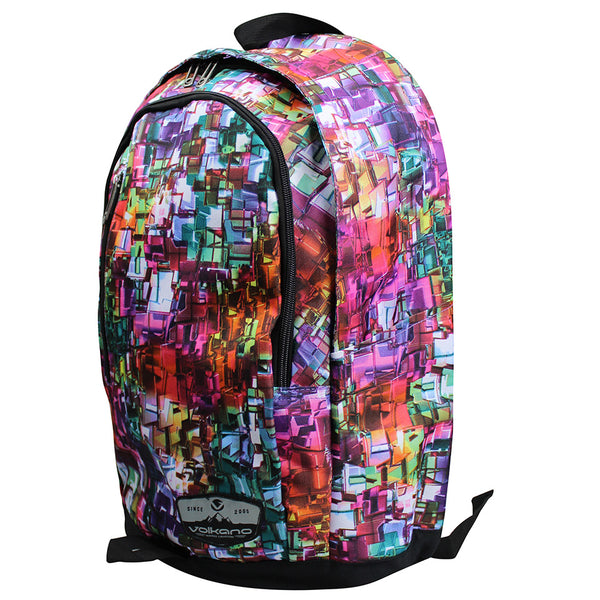 Volkano Kaleidoscope Series Backpack | Multi Colour - KaryKase