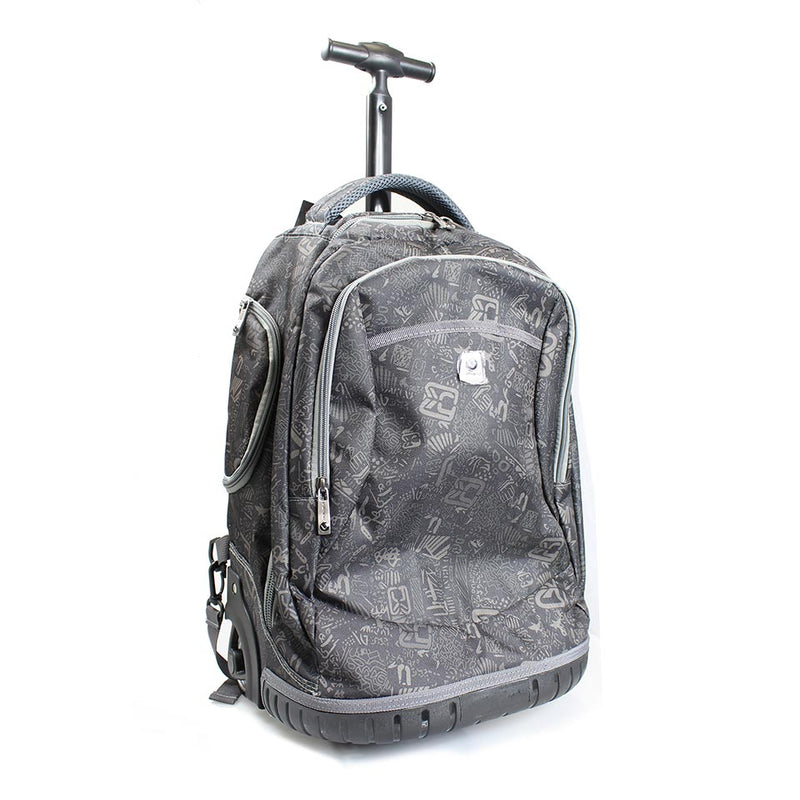 Volkano Elementary Series Boys Trolley Bags | Grey/Black