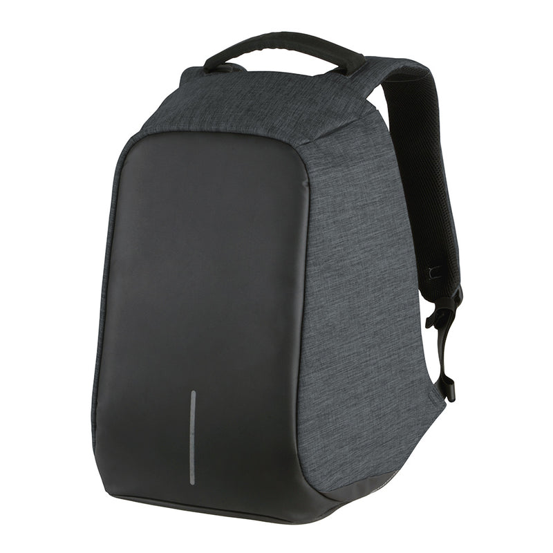 Volkano Smart Anti-theft Laptop Backpack | Charcoal - KaryKase