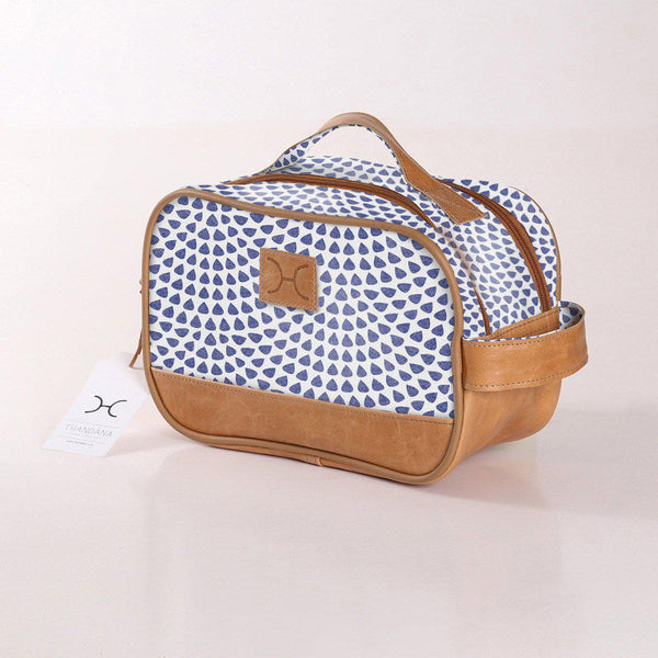 Thandana Laminated Fabric Vanity Bag - KaryKase