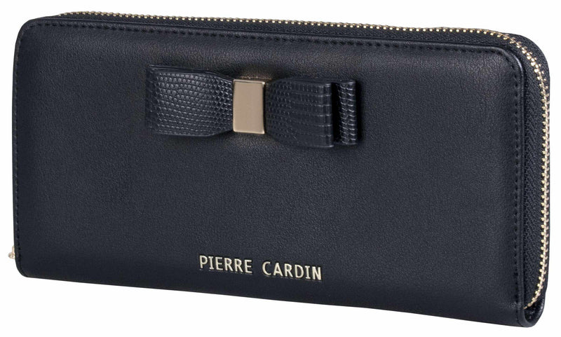 Pierre Cardin Valerie Zip-Around Purse | Black - KaryKase