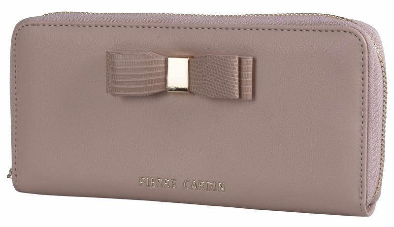 Pierre Cardin Valerie Zip-Around Purse | Nude