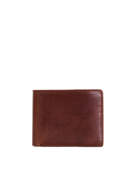 Zemp James 8 CC Billfold Wallet | Chestnut - KaryKase