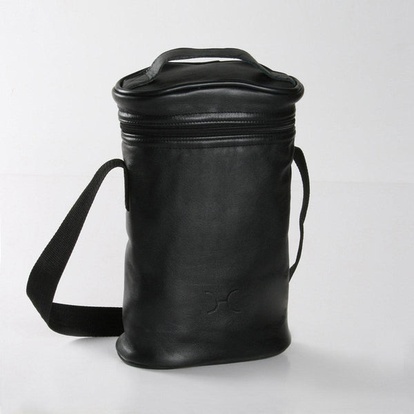 Thandana Leather Wine Cooler Double Carry Bag