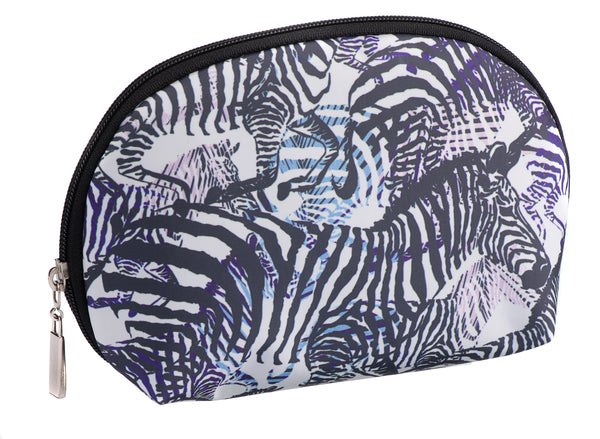 Caramia Zebcrossing Cosmetic Case M | Black/White - KaryKase
