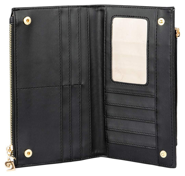 Pierre Cardin Denisha Purse | Black - KaryKase