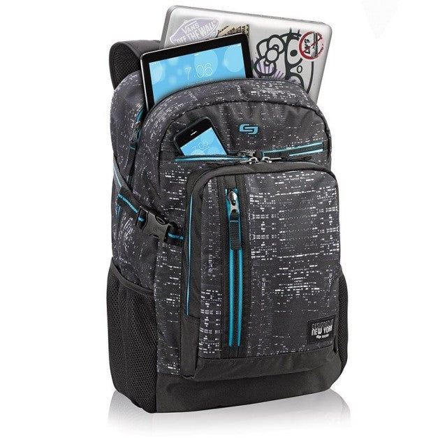 Solo Midnight Laptop Backpack - KaryKase