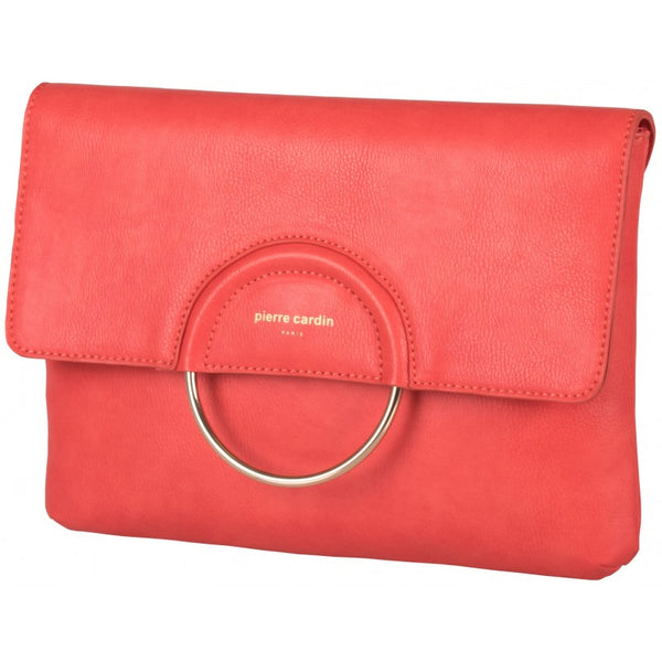 Pierre Cardin Rebecca Crossbody/Clutch Bag | Coral - KaryKase